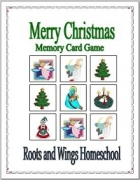 Free Merry Christmas Memory Card Game