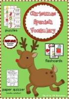 Free Christmas Spanish Vocabulary Activities