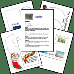 Free Polar Express Lapbook and Unit Study