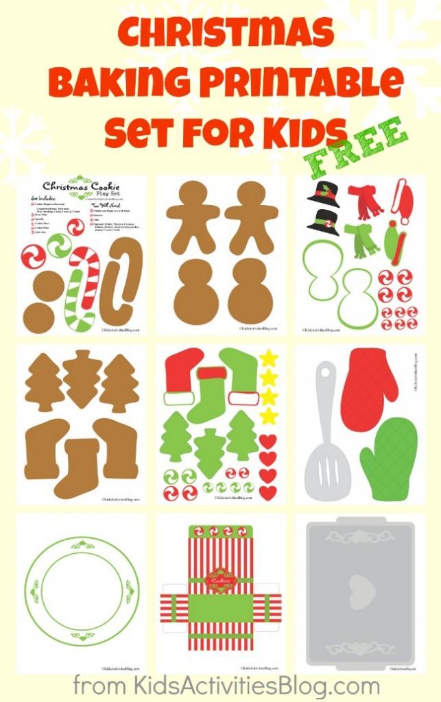 Free {Cute} Christmas Baking Printables   Free Homeschool ...