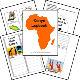 Free Africa Unit Studies and Lapbooks