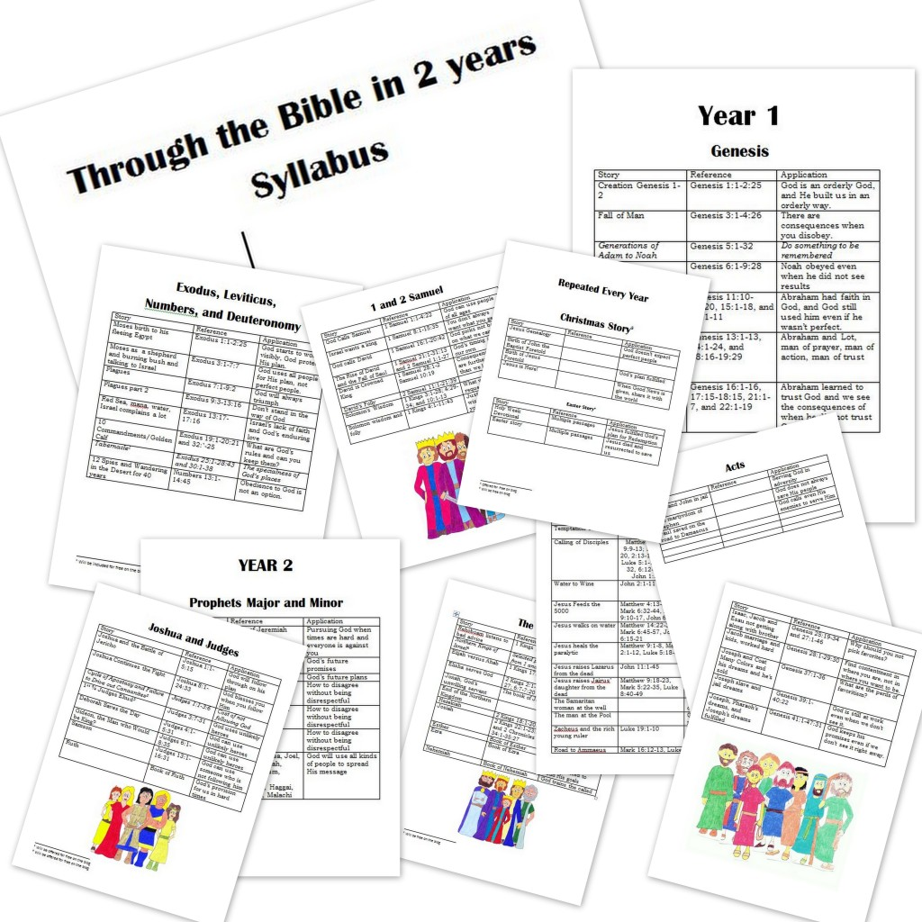 Free Bible Curriculum: Family Bible Curriculum 2 Year