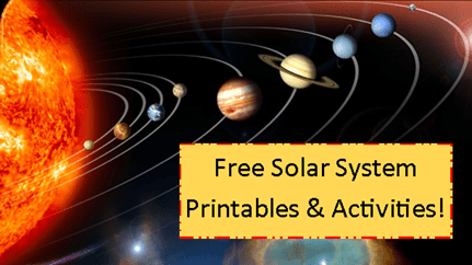 free solar system worksheet printables and activities free