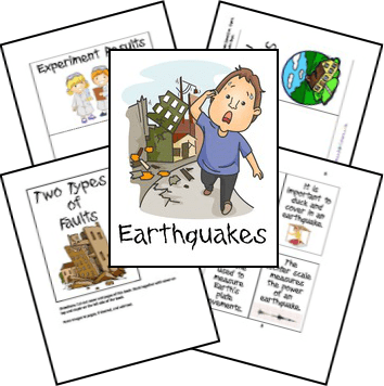 Free Earthquake Unit Study & Lapbook