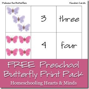 Free Preschool Printables: Butterfly Printable Pack