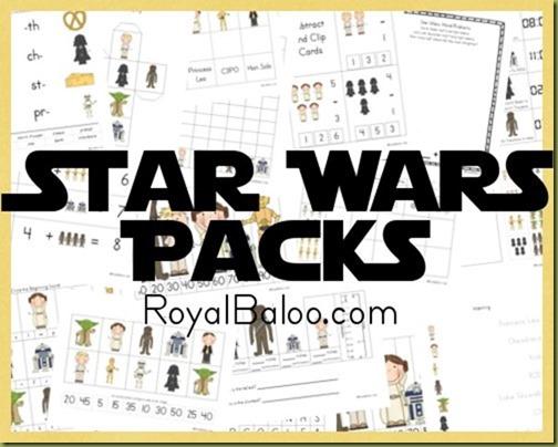Free Homeschool Printables: Star Wars Free Printable Worksheets Pack
