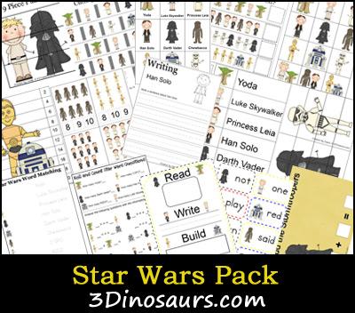 star wars printable worksheets