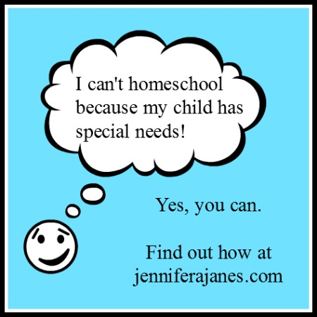 special needs homeschooling