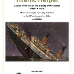 Free Titanic Unit Study