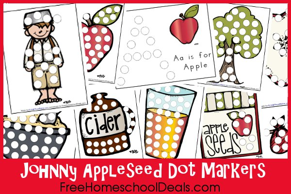 free johnny appleseed printables