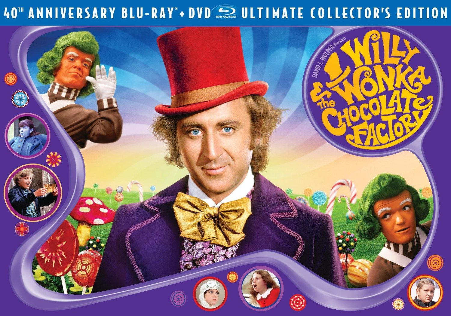 Save 62 Willy Wonka Amp The Chocolate Factory 3 Disc 40th Anniversary Collector S Edition Blu