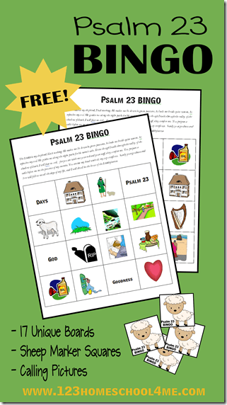 Comprehensive image in printable bible games