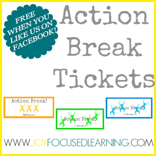 Action Break Tickets Free Printable