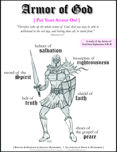 Armor of God Girl