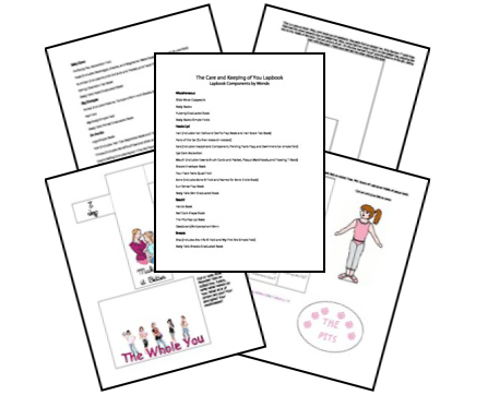 Lapbooks for Homeschool: Free The Care and Keeping of You