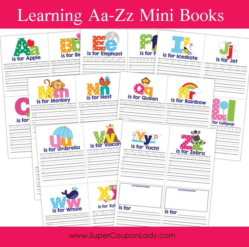 It is a graphic of Simplicity Printable Mini Books