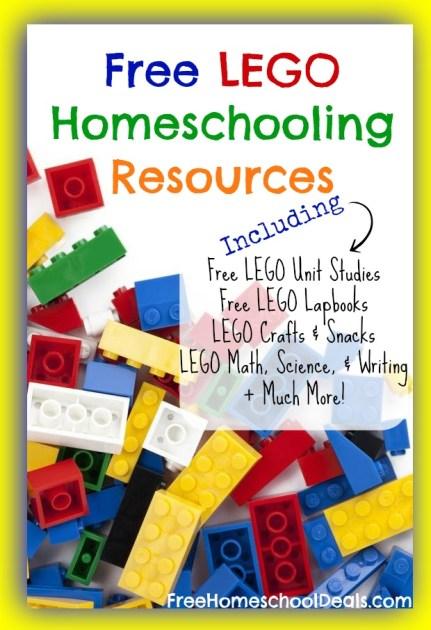 Lego Homeschooling Resources