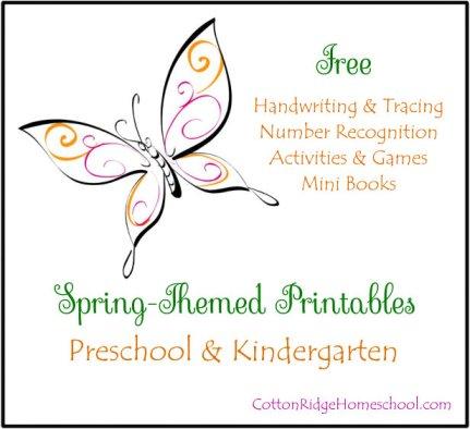 Spring Themed Printables