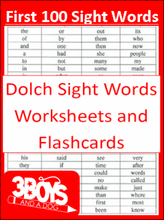 First-100-Sight-Words