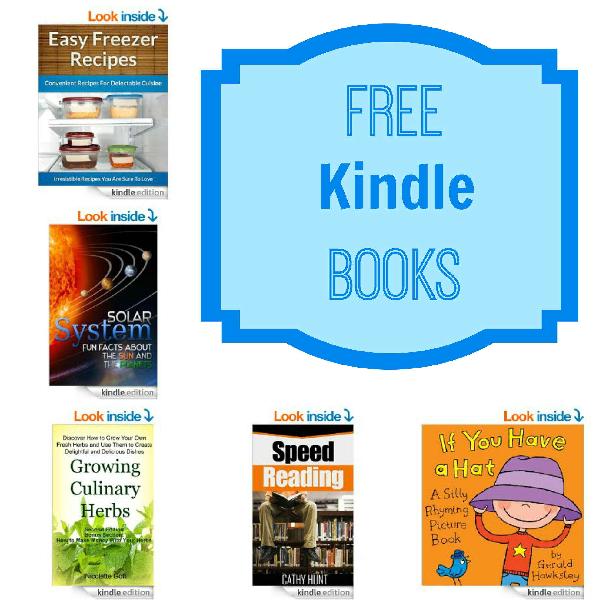 15 Free Kindle Books Easy Freezer Recipes Solar System