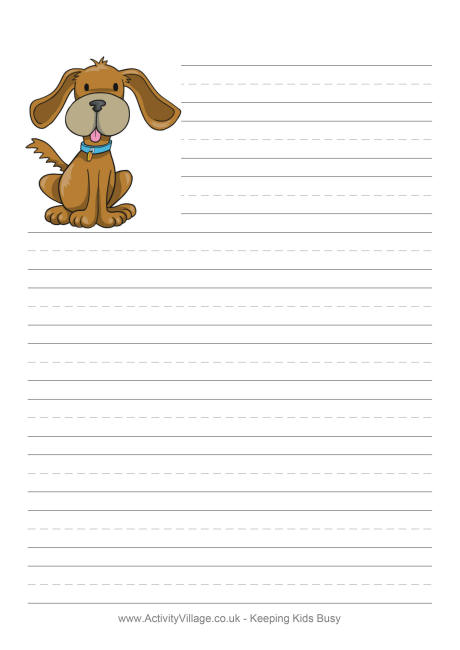 Cute Lined Paper You Can Print