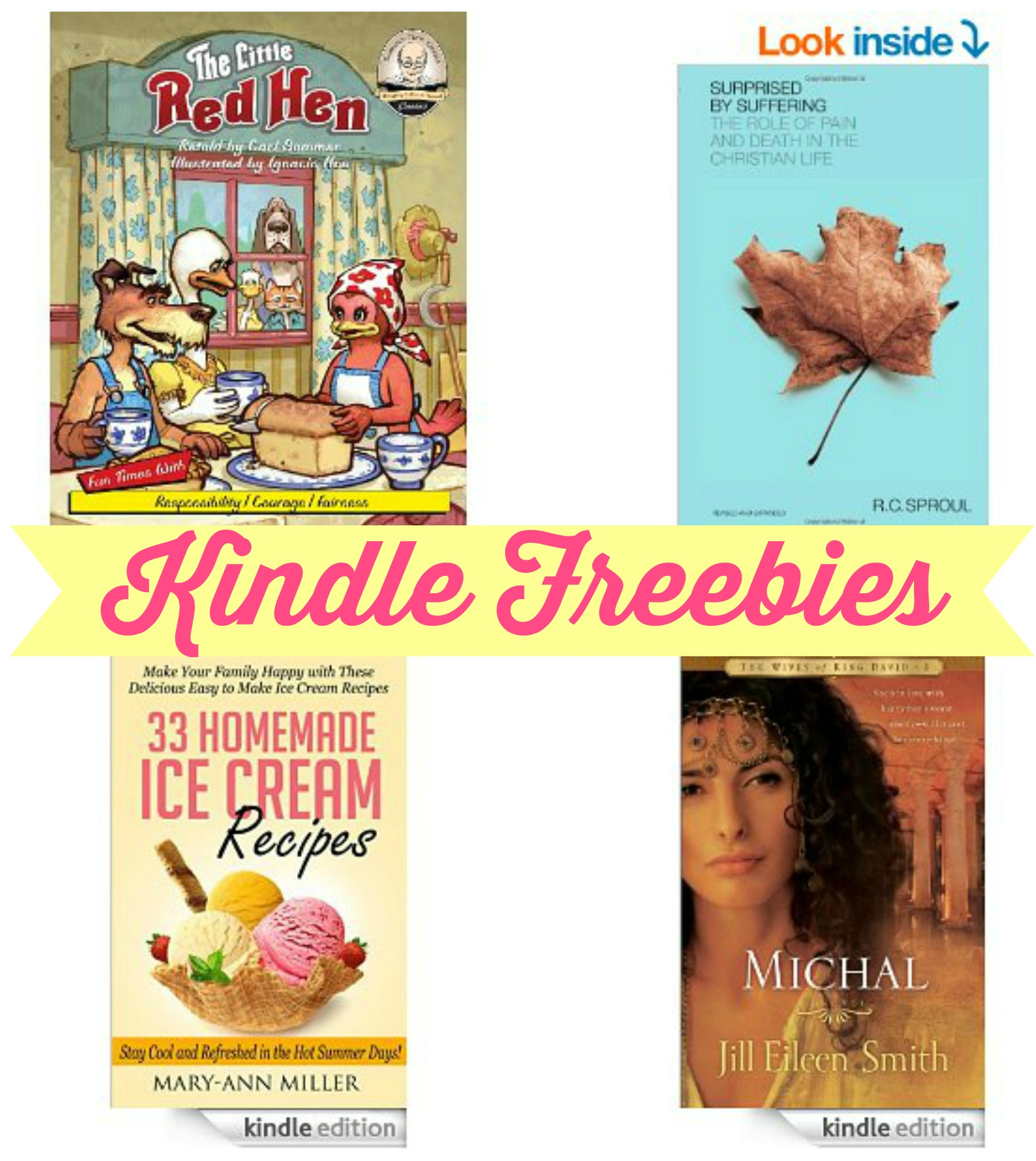 18 Kindle Freebies The Little Red Hen Fish Amp Game