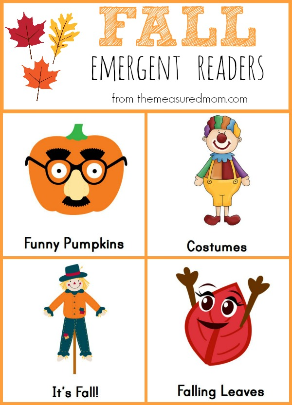 FREE Fall Emergent Readers | Free Homeschool Deals
