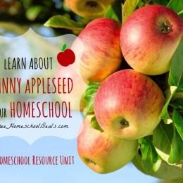 FREE Johnny Appleseed Homeschool Resource Unit