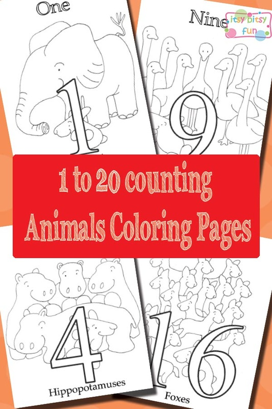 FREE 120 Numbers Counting printable