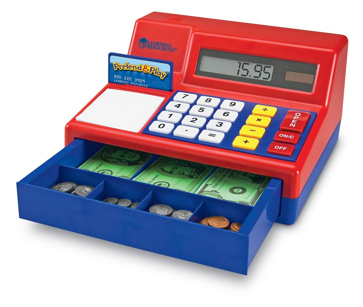 Learning Resources Pretend Amp Play Cash Register Only 20