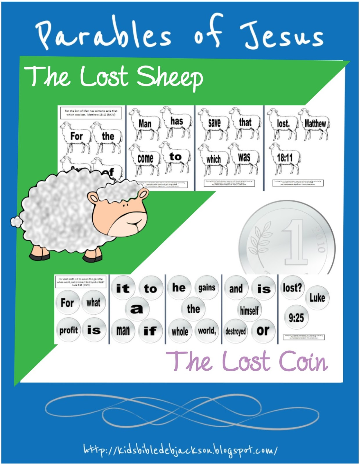Free Parable Of The Lost Sheep Lesson