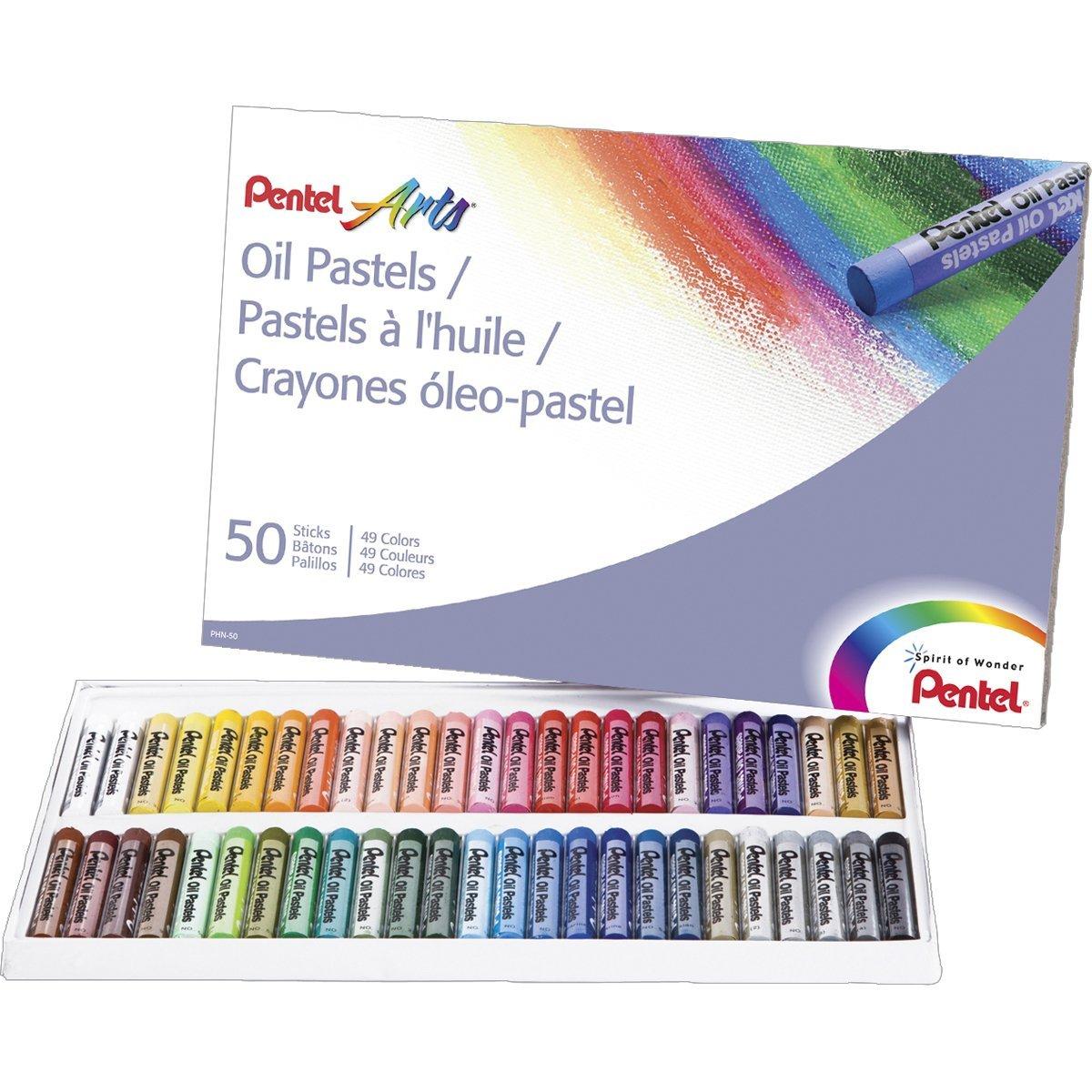 Pentel Arts Oil Pastels 50 Color Set Only 6 69