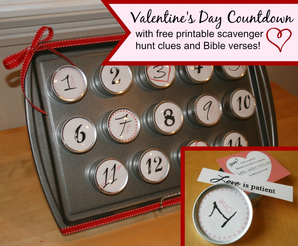 Free Valentines Day Countdown