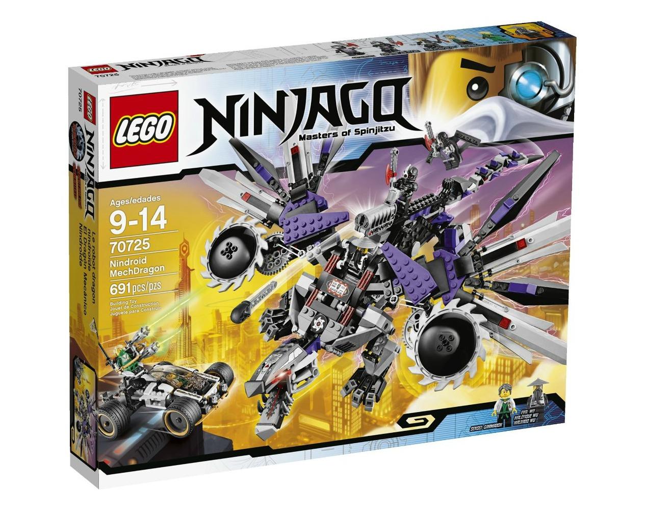 Lego Ninjago Nindroid Mech Dragon Set Only 40 Reg 90