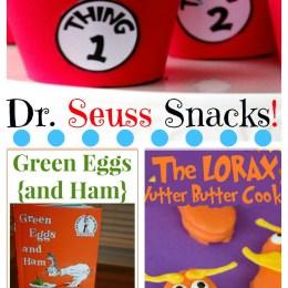 Big YUMMY List of Dr. Seuss Snacks – over 40!