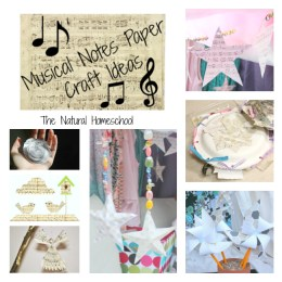 FREE Music Paper Crafts and Printable Note Paper