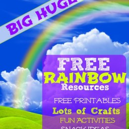 Big Huge List of Free Rainbow Resources: Printables, Crafts, Snacks, and More!