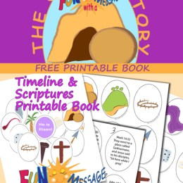 FREE Easter Story Printable Activity Book