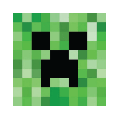 Mesmerizing image in minecraft creeper face printable