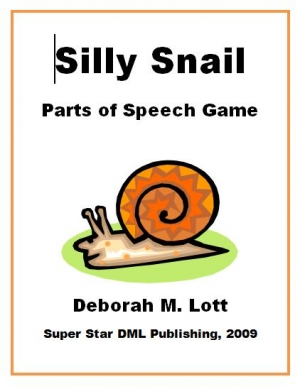 Free Silly Snail Parts of Speech Game