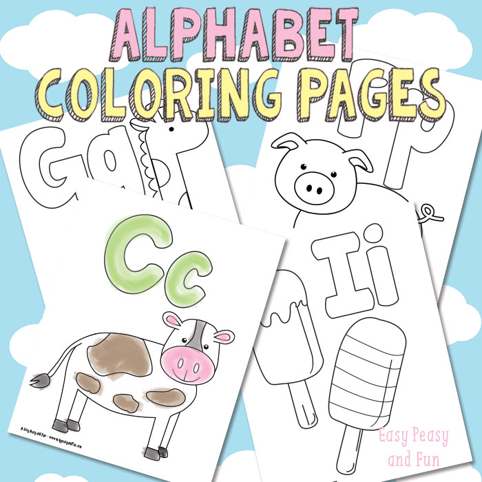 Free Alphabet Coloring Pages Free Homeschool Deals