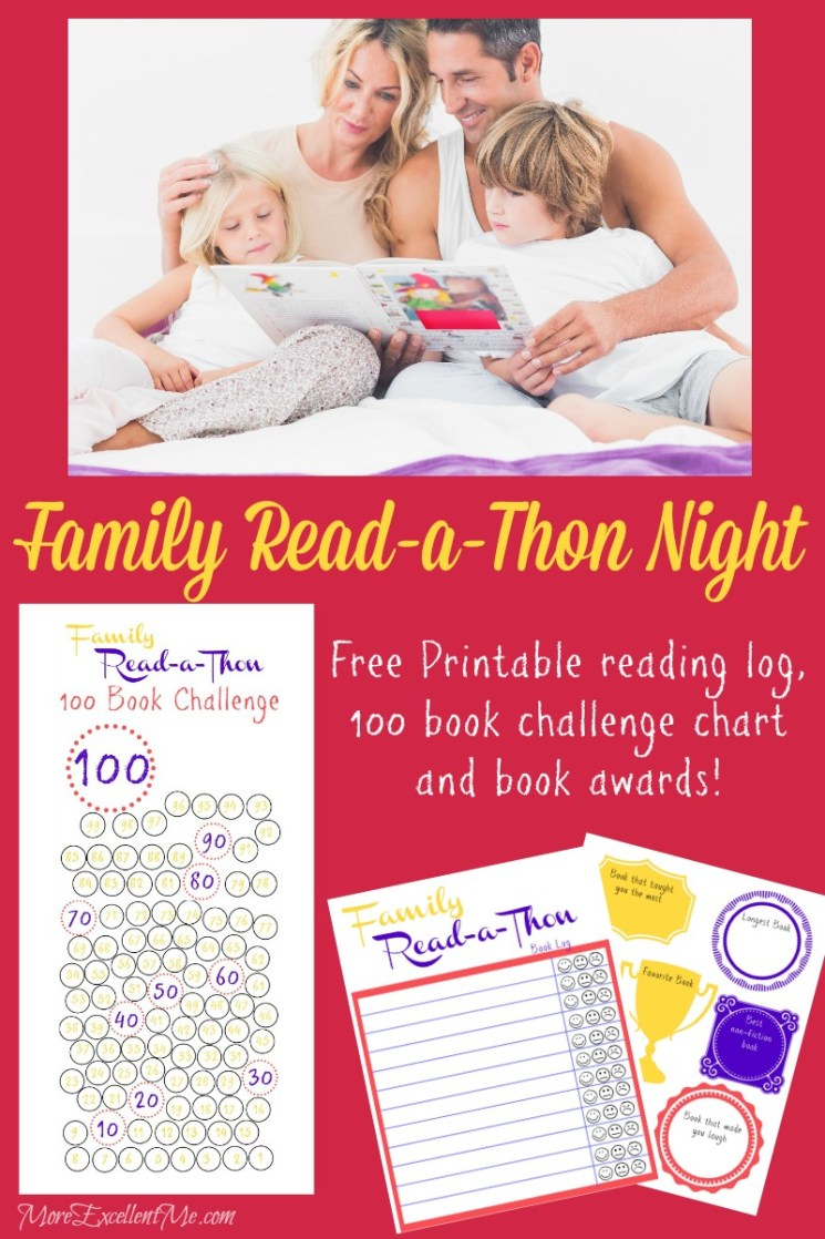 FREE Family Reading Packet