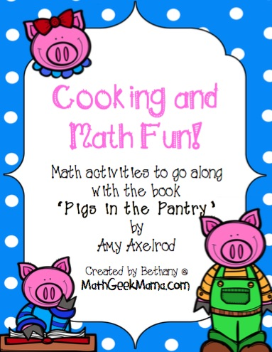 FREE Math and Cooking Pack