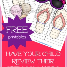 FREE Spelling Practice and Review Pack