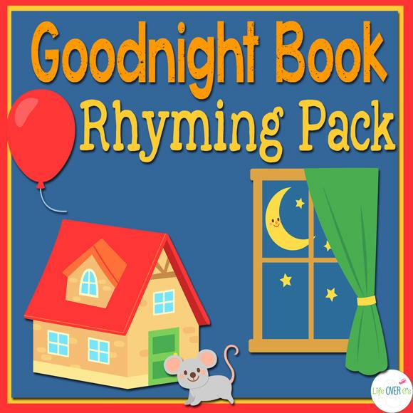 FREE Goodnight Moon Rhyming Pack