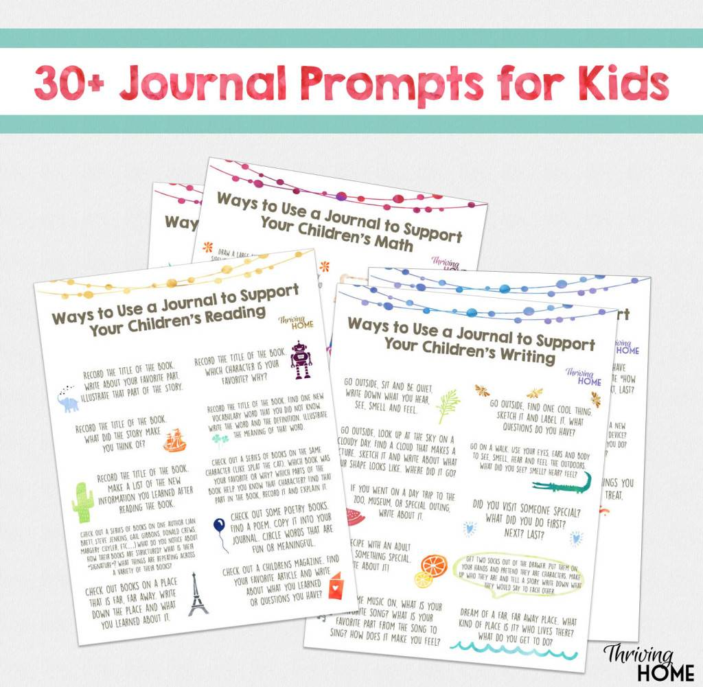 Free Journal Prompts For Kids 30