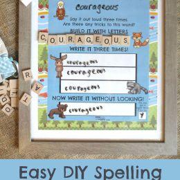FREE Spelling Practice Printable