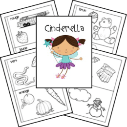 FREE Cinderella Lapbook