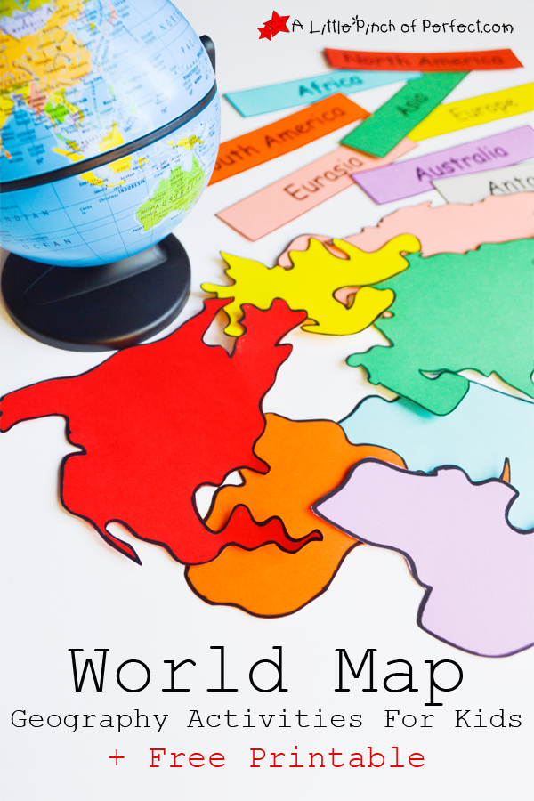 FREE Interactive World Map With Activities Free Homeschool Deals