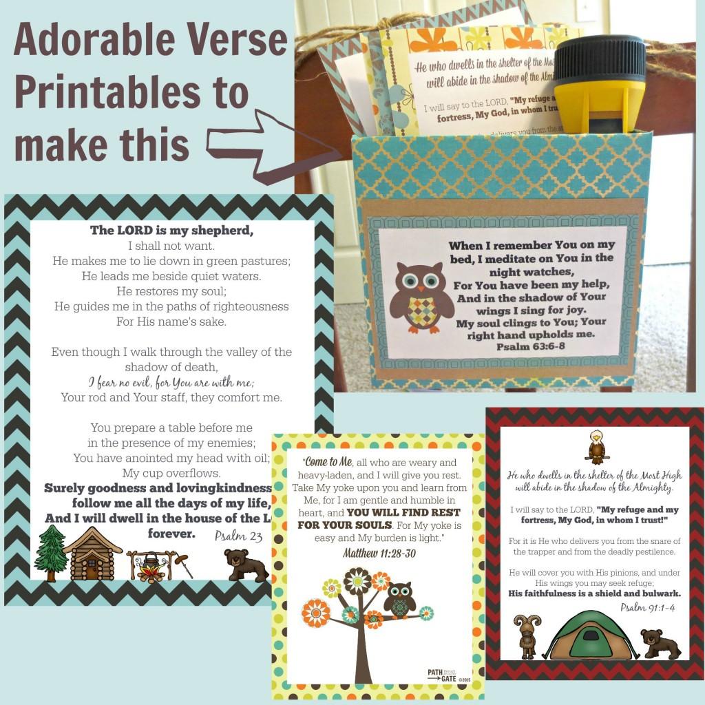 Free Prayer Box Printables
